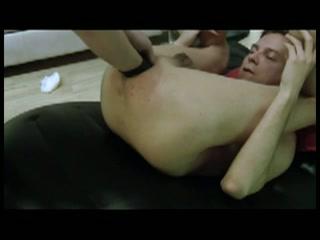 Handje klap in een homo anus